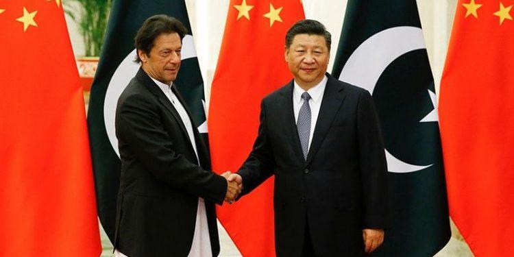 Pakistan PM Imran Khan with Chinese President Xi Jingping