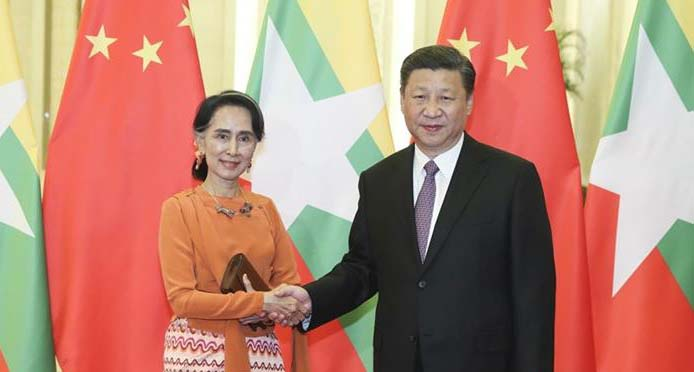 China to grant 1 bn yuan for development projects in Myanmar