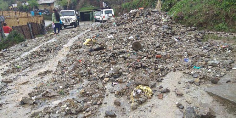 Arunachal Pradesh: Cloudburst wreaks havoc in Bomdila 1