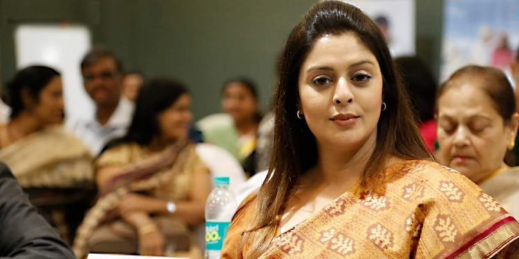 Former Bollywood actress Nagma Morarji Image Credit: Twitter