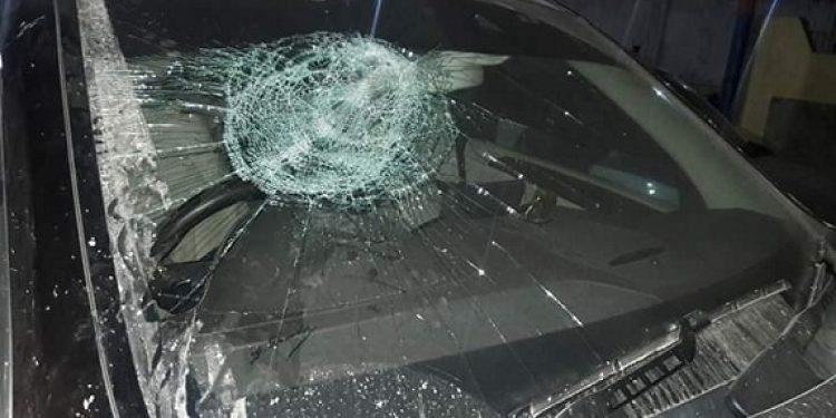 Damaged vehicle of Waii