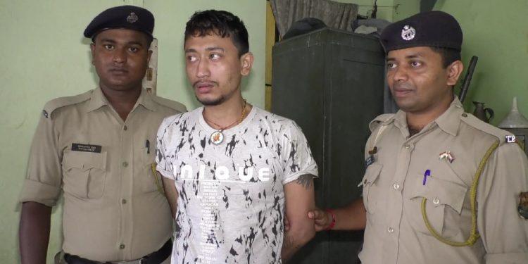 Arrested drug smuggler Amal Debbarma