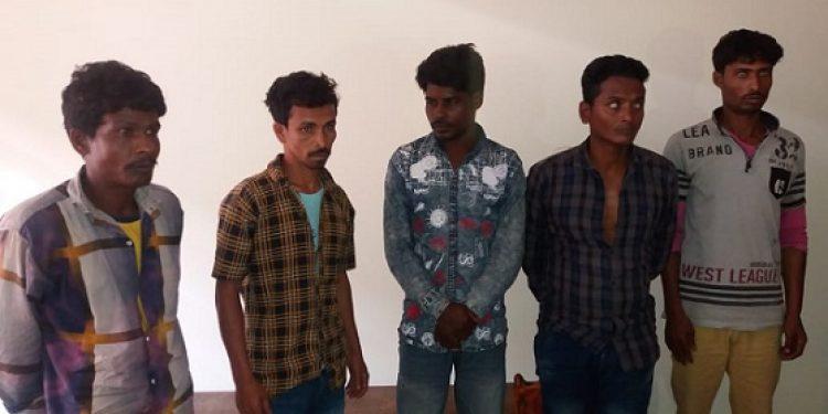 Gang of criminals