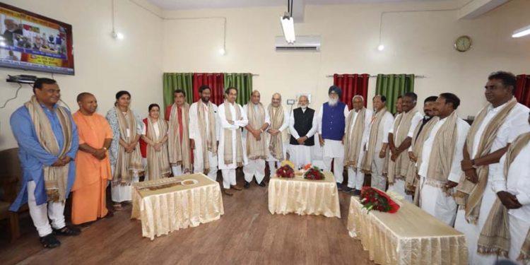 Himanta with Modi