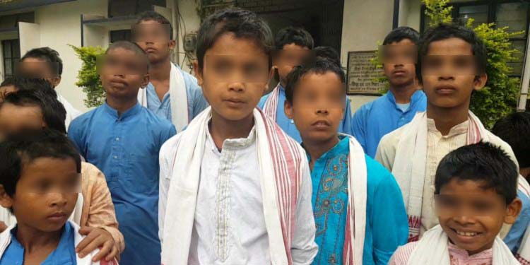 Majuli students