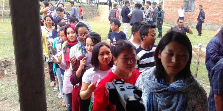 Manipur polling