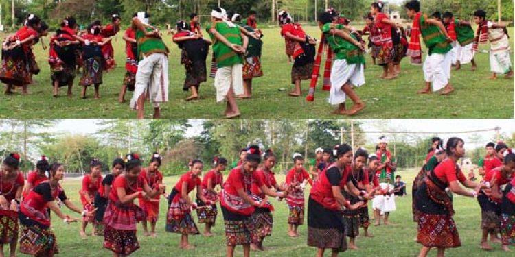 Mising Bihu dance