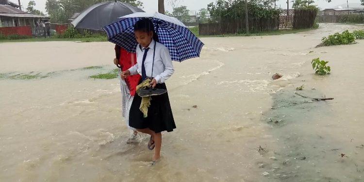 Flood in Numaligarh