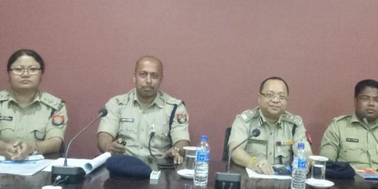 Security scenario reviewed by DIG Singha