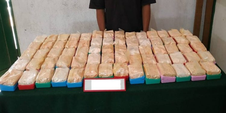 Seizure of contraband worth Rs 1.87 Cores