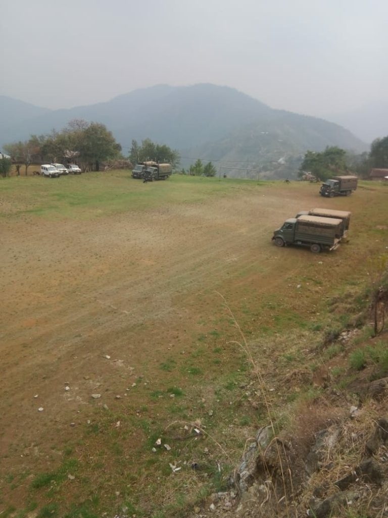 Tension grips Sihai as troops march close to NSCN (IM) Southern Command 1