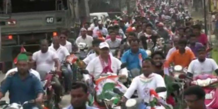 cong mangaldai rally