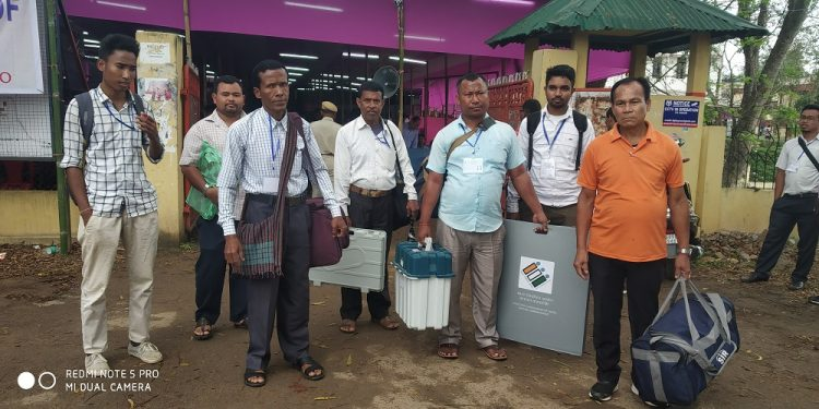 diphu poll personnel