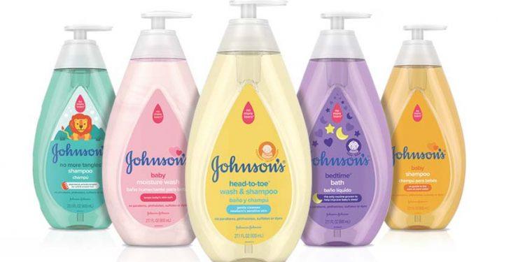Johnson & Johnson baby shampoo