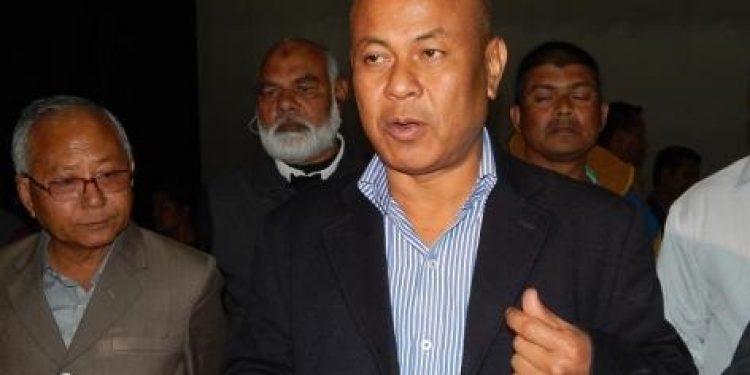 BPF president Hagrama Mohilary Image Credit: assamtimes.org