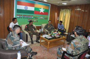 indo-myanmar army meet