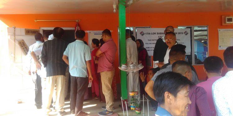 manipur phase ii polling