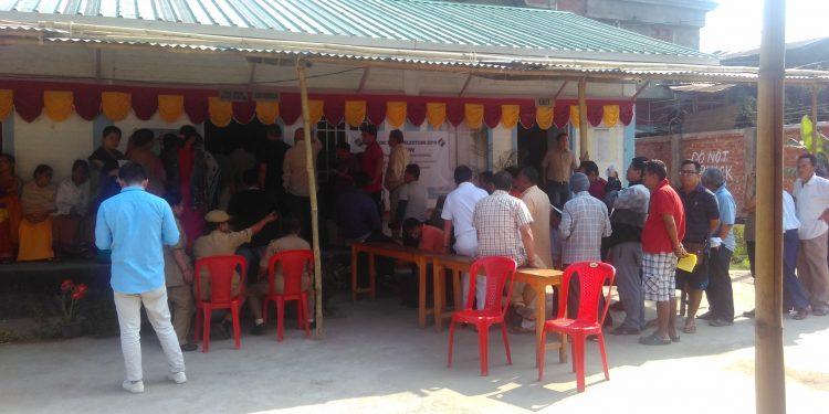 manipur polling station