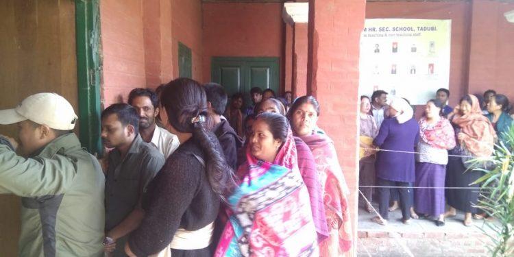 manipur re-polling