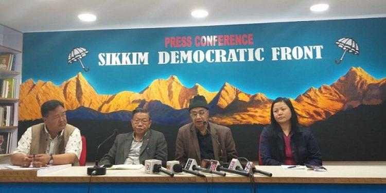 SDF press conference