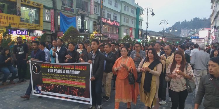 sikkim candle march