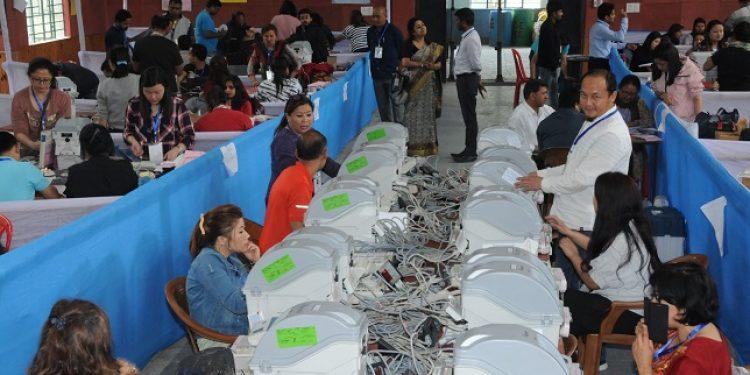 sikkim mock poll
