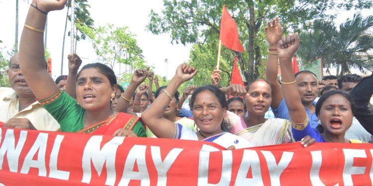 01-05-19 Guwahati- Labour Day United Workmen Union (3)