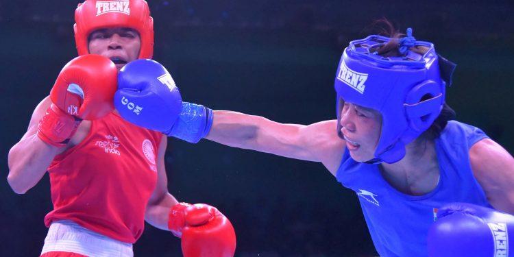 23-05-19 Guwahati- Boxing Mary Kom vs Nikhat Zareen (7)