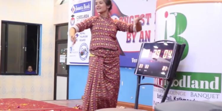 Dancing sensation Bandana Nepal