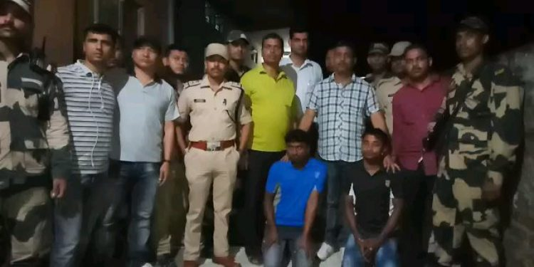 Banned drugs worth eight crores seized by BSF and Cachar police on Wednesday night in Silchar