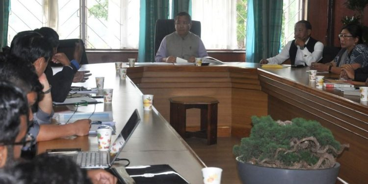 Coordination commitee meeting on roads