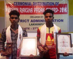 Assam: 2 Lakhimpur boys get national award for saving child's life 1