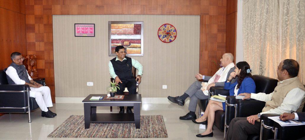 Assam CM meets Israeli Ambassador to India to improve bilateral relations 2