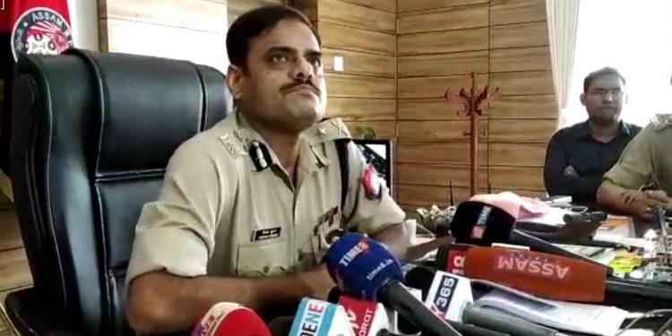 File image of commissioner of police Deepak Kumar.