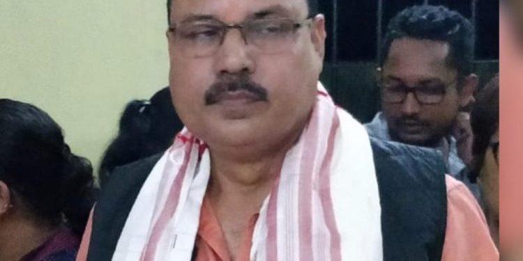 Arrested treasury officer Amarendra Sarma