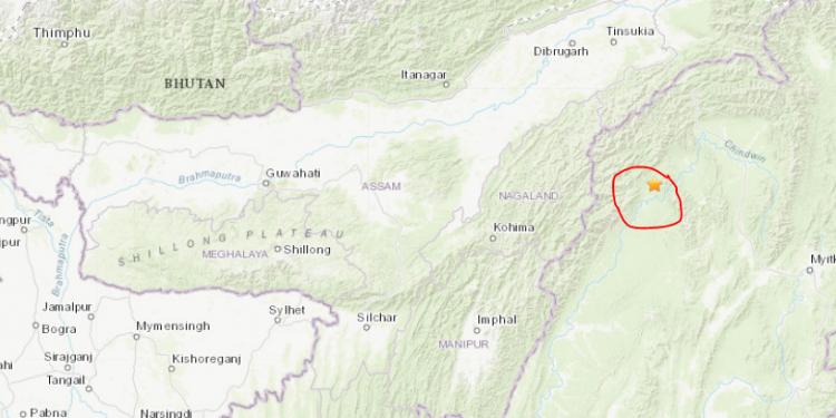 Earthquake 4 May