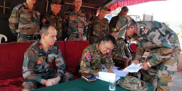 Myanmar Army Representative Image