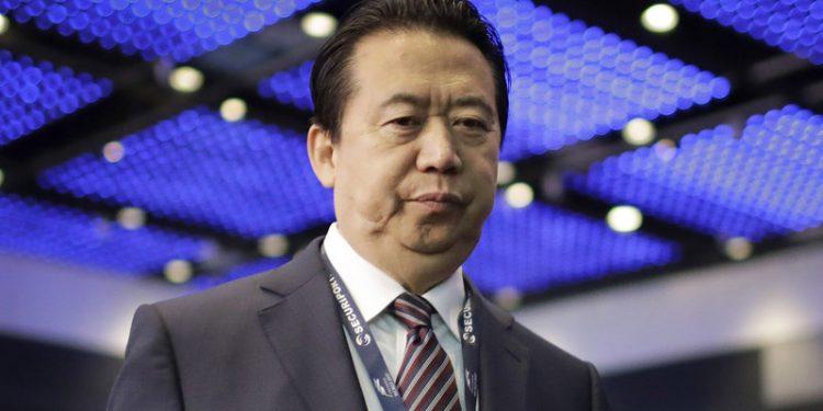 Former-Interpol boss Meng Hongwei