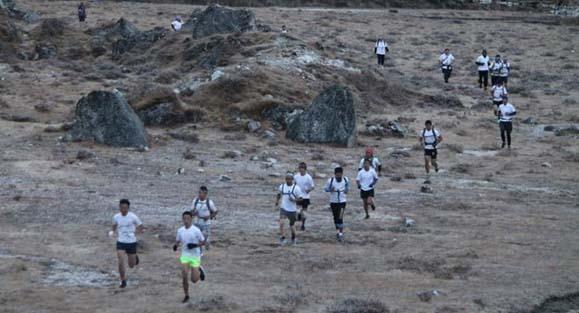 Highest altitude marathon