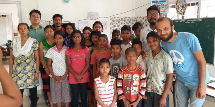 Feeding India in Jorhat Image Credit: Northeast Now