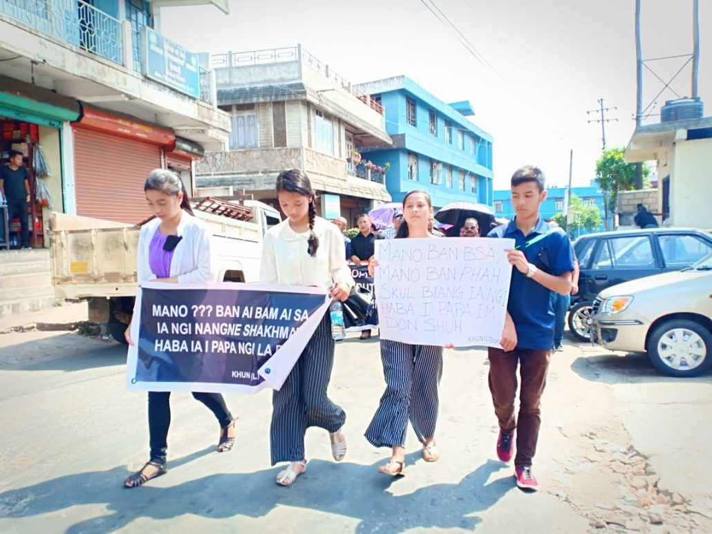 Meghalaya residents seek action against home guard killing, take to streets 1