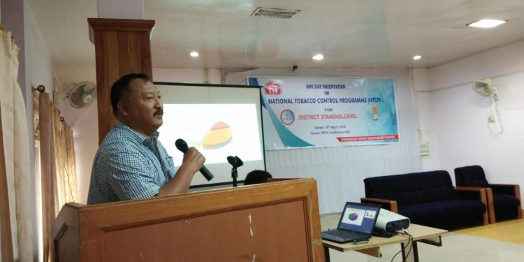 'About 55% of adult use tobacco in Manipur' 1