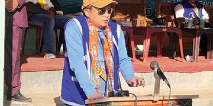 BJP candidate Nyamar Karbak