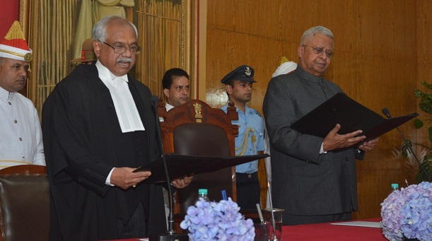 AK Mittal sworn in as new Chief Justice of Meghalaya HC