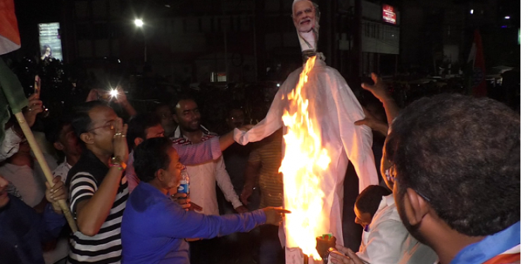 Modi effigy
