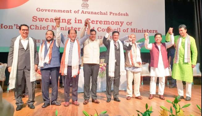 Pema Khandu sworn in as 10th CM of Arunachal Pradesh 1