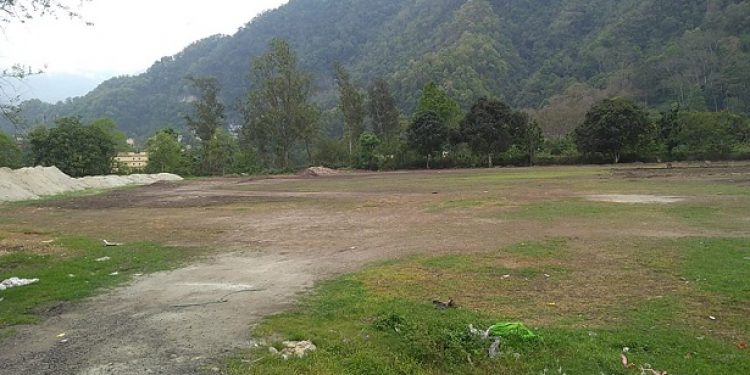 Cricket stadium in Sikkim