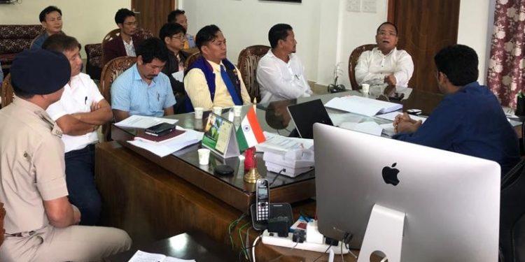 arunachal poll day meet