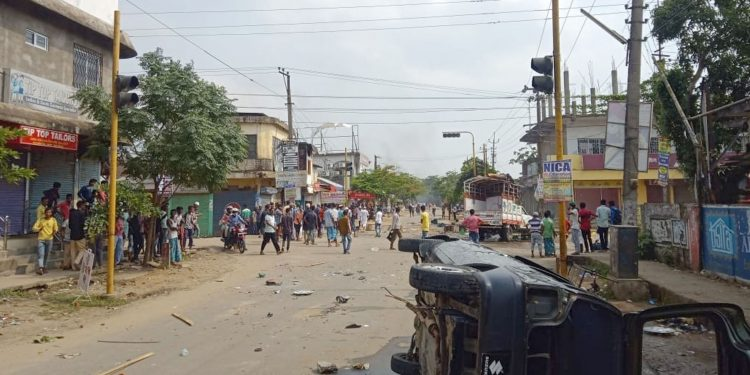 At least 15 persons including three police constables were injured in the communal clash irrupted on Friday in Hailkandi.