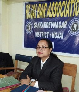 Assam: First lady president takes charge of Hojai Bar Association 1